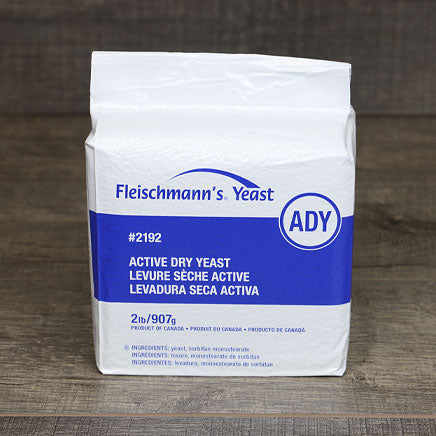Yeast, Dry Active - 2 lb. bag ITEM 6279