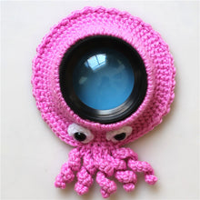 Load image into Gallery viewer, Knitted camera teaser