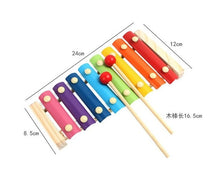 Load image into Gallery viewer, Wooden instrument Xylophone