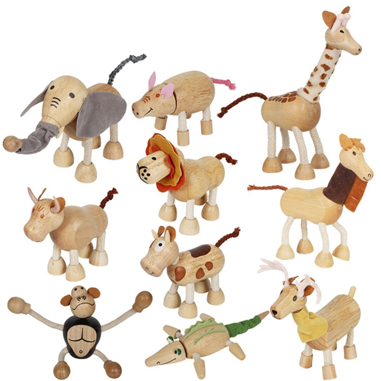 Wood-cloth Animal figures