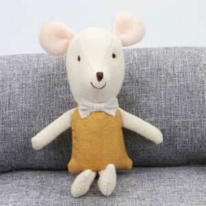Minimalist Mouse Plush Toy