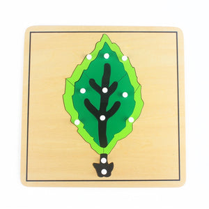 Realistic wooden puzzles