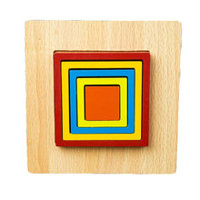 Load image into Gallery viewer, Montessori geometric puzzle