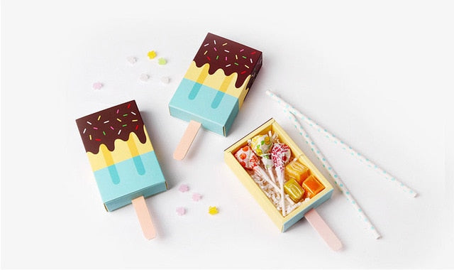 Ice cream candy box