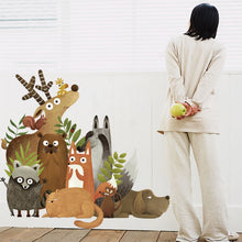 Load image into Gallery viewer, Nordic Forest Animals Wall Sticker