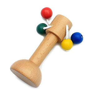 Classic Montessori rattles and toys