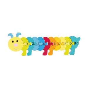 Animal linear number puzzle