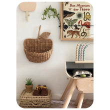 Load image into Gallery viewer, Rattan Apple Storage Basket