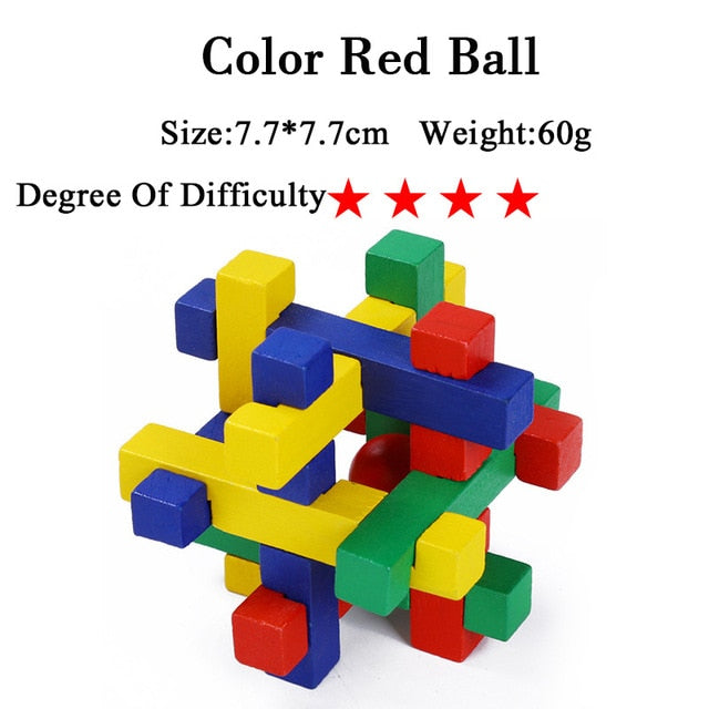 3D Puzzles for developing IQ