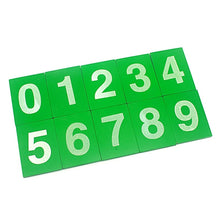 Load image into Gallery viewer, Montessori Sandpaper Numbers 0-9