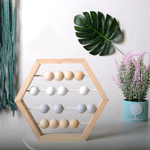 Load image into Gallery viewer, Nordic Pearl Abacus for math and counting