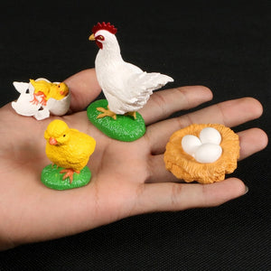 Animals Growth Cycle educational figurines