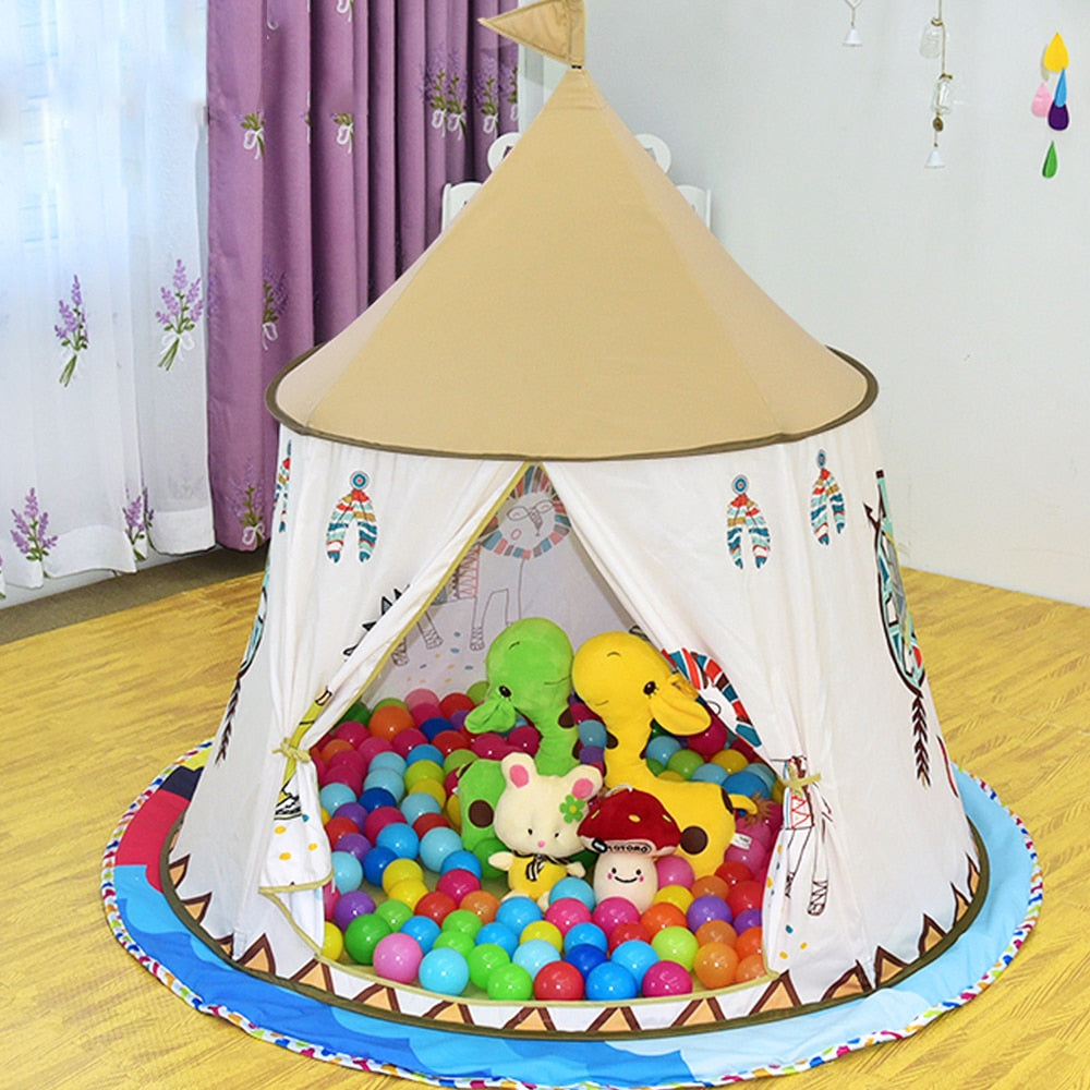 Teepee children indoor tent