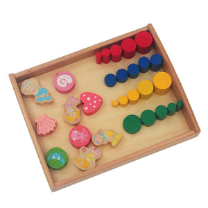Activity Montessori Tray for Toddlers