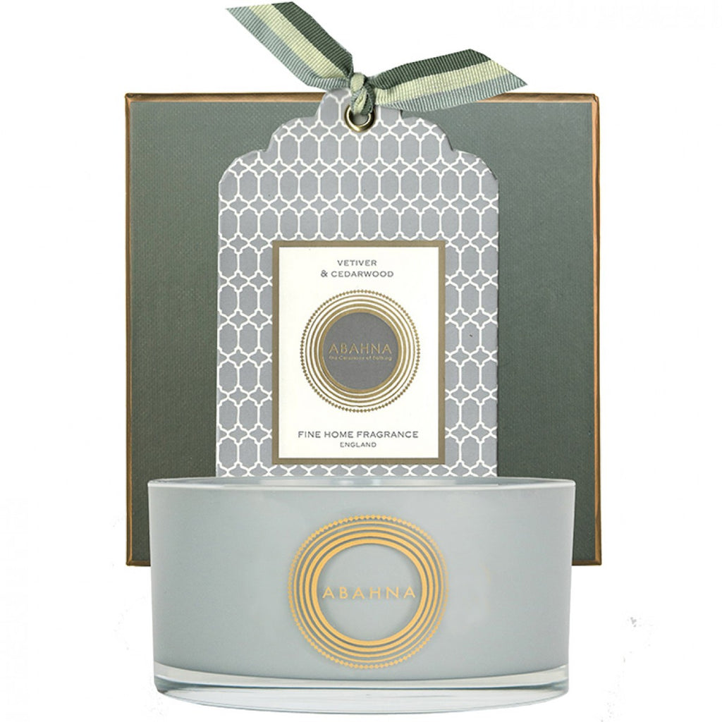 3 Wick Candle - Vetiver & Cedarwood