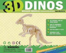 Load image into Gallery viewer, 3D Dinosaur Puzzle