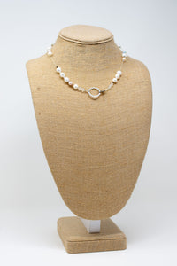 Soft Pearls Two in One Necklace