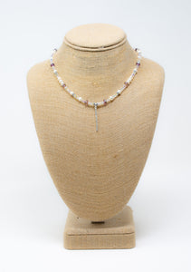 Delicate in Pink Necklace