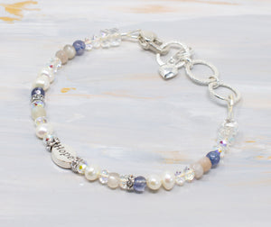Delicate in Blue Bracelet