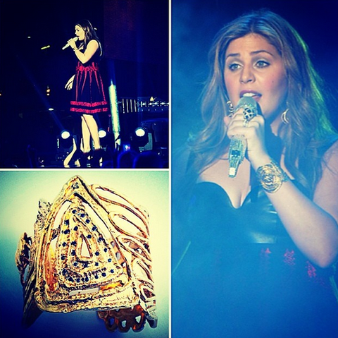 Linanoel Sparta Cuff spotted at 2014 CMT Music Awards