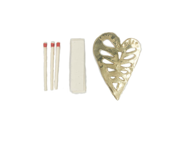 Heart Incense Burner