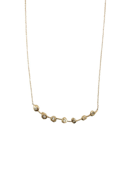 Circle Stem Necklace