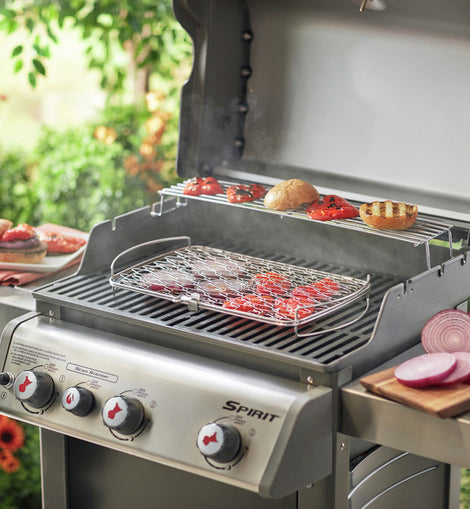 Weber Grilling Basket: Weber Q 300/3000 And Larger Gas Grills And 18