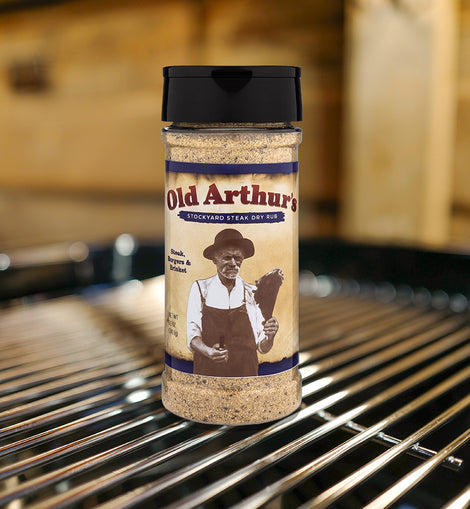 Old Arthur's Stockyard Steak Dry Rub