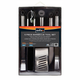 Mr. Bar-B-Q 5 Piece Barbecue Tool Set