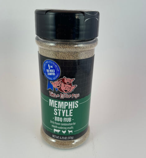 Three Little Pigs Memphis Style Rub