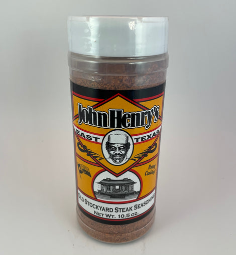 John Henry Old Stockyard Steak Seasoning