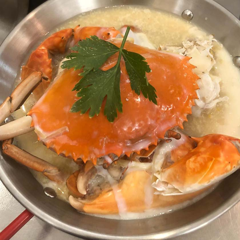 CFJ Steam Crab