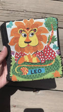 Load and play video in Gallery viewer, Zodiac Zipper Pouch - Leo - by Sewn By Suyon