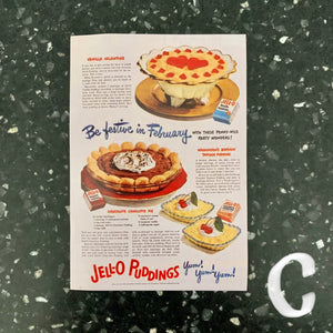 STICKER - retro food advertisements - choose your favorite
