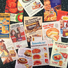Load image into Gallery viewer, STICKER - retro food advertisements - choose your favorite