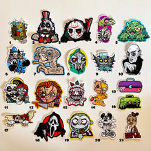 Load image into Gallery viewer, Spooky Stickers - Lots of characters - by Save the Panduhs