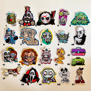 Spooky Stickers - Lots of characters - by Save the Panduhs