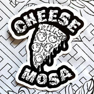 Cheese Mosa Sticker - by Chula Clothing