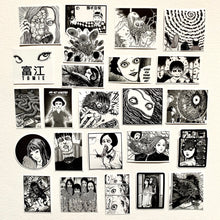 Load image into Gallery viewer, Junji Ito Japanese Horror Manga Stickers Set