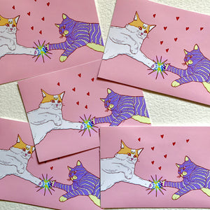 Kitty Power Sticker - by Sick Sad Girls