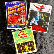 Load image into Gallery viewer, Retro Kung Fu Pulp Movie Stickers Set