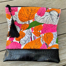 Load image into Gallery viewer, Neon Jungle Clutch Bag - by Sewn By Suyon