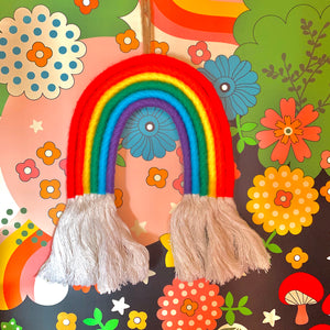 XL Classic Rainbow Wall Hanging - by Hola Hermanas Co