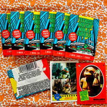 Load image into Gallery viewer, 90's Vintage Teenage Mutant Ninja Turtles Wax Pack Trading Cards
