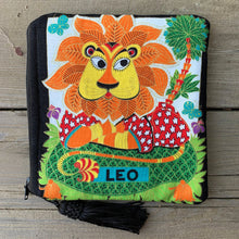 Load image into Gallery viewer, Zodiac Zipper Pouch - Leo - by Sewn By Suyon