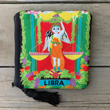 Load image into Gallery viewer, Zodiac Zipper Pouch - Libra - by Sewn By Suyon