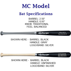MC Model - Youth Maple Baseball Bat