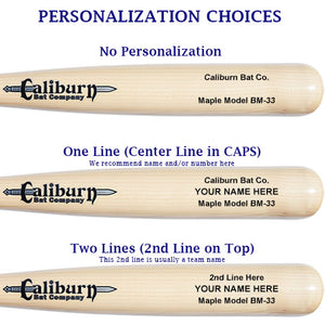 DC Model - Youth Maple Baseball Bat
