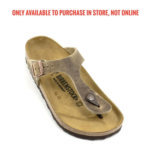 Birkenstock - Gizeh - Tobacco - Brown Natural Leather (0943811) 943811
