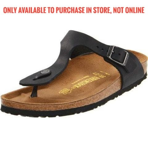 Birkenstock - Gizeh - Black BF 043691  KIDS SIZES AVAIL (30-34) 846141